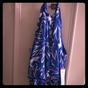 Vince Camuto Tropical Maxi Dress